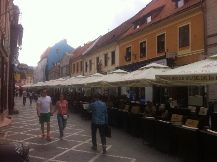 Brasov, ciudad amurallada en el corazón de Transilvania