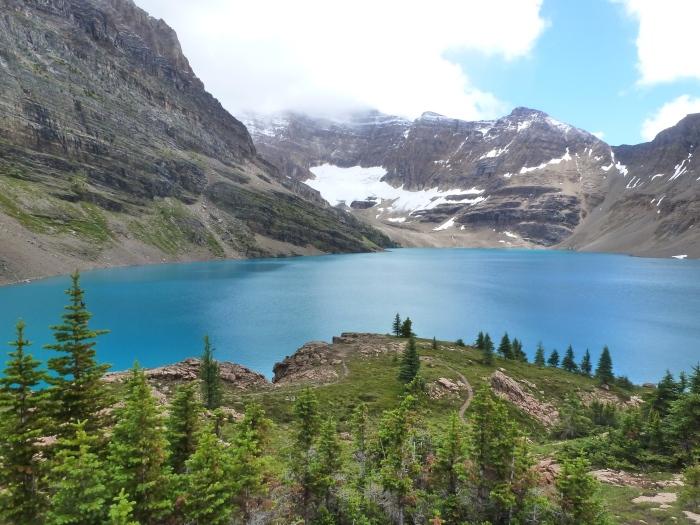 Mereció la pena caminar 30km para ver el lago McArthur en el parque nacional de Yoho