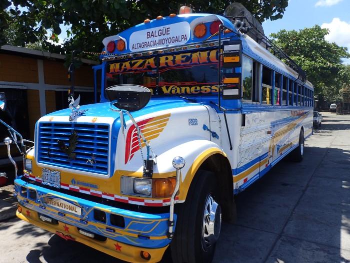 Uno de los tantos autobuses que cogimos.