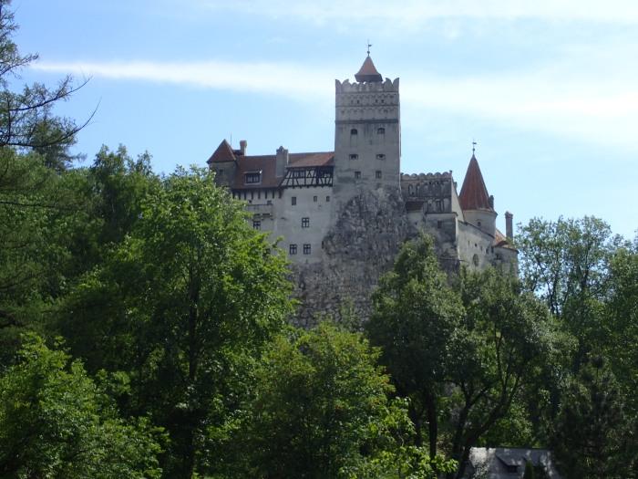 Castillo de Bran, conocido por ser el del Conde Drácula