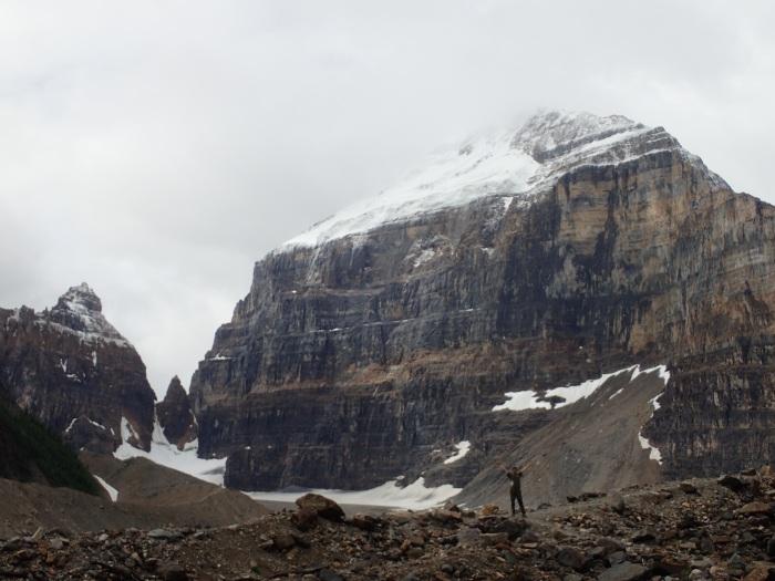 Preciosa caminata de los seis glaciares en Lake Louise