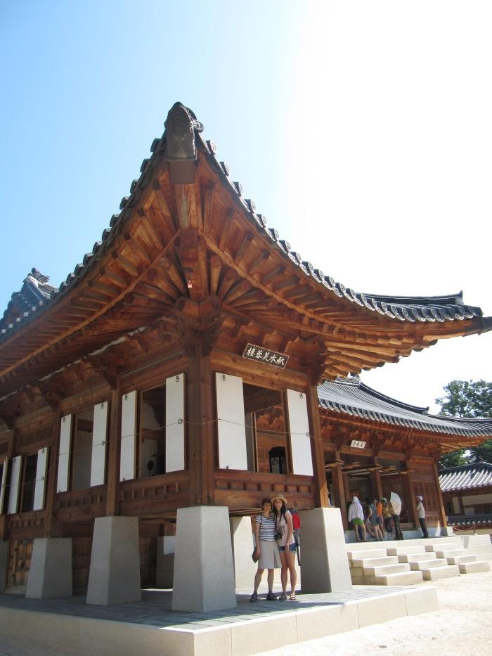 El templo Bongeunsa de Seul, escala activa en el vuelo a Australia