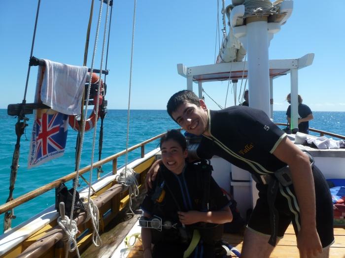 Camino de la Gran Barrera de Coral a bordo del Falla, Cairns