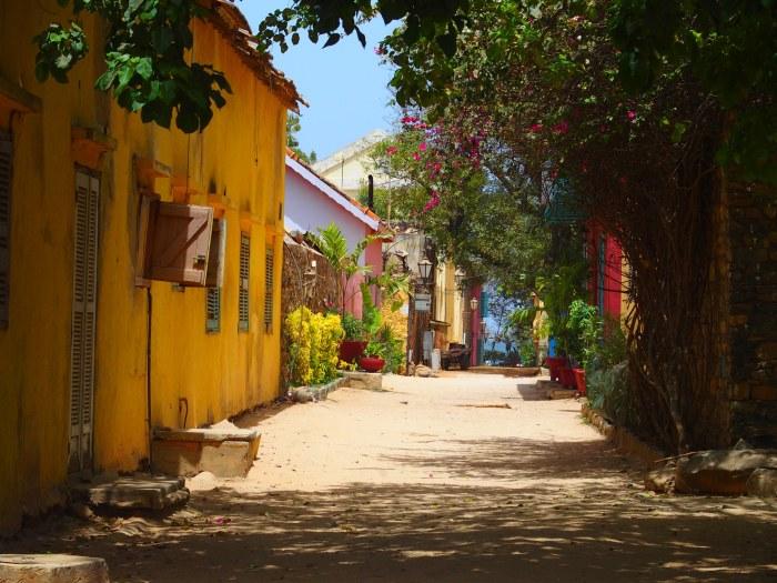 Calles de la Isla de Gorée