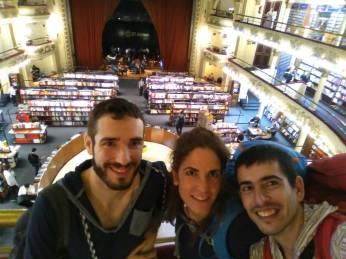 Con Pablo en la librería El Ateneo