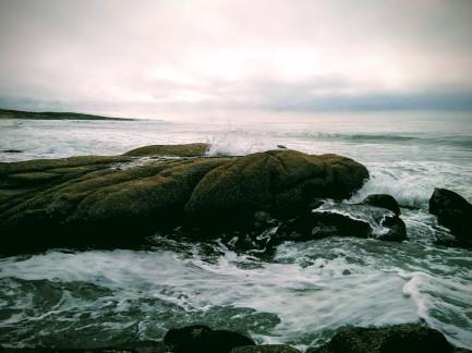 Costa de Uruguay desde Punta del Diablo