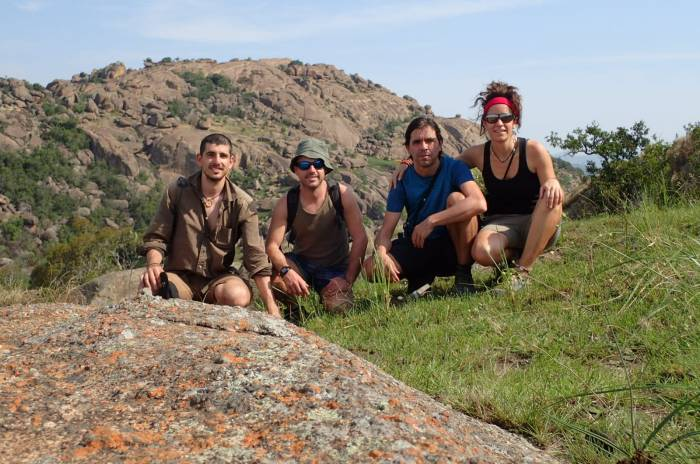 Los cuatro camino de Sibebe, Suazilandia