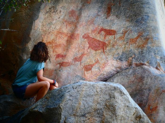 Pinturas rupestres de Tsodilo Hills, la Capilla Sixtina del Kalahari