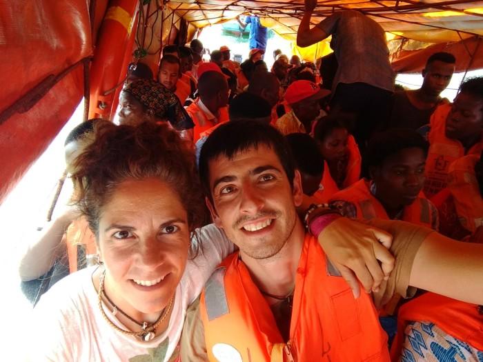 A bordo de una patera entre Inhambane y Maxixe