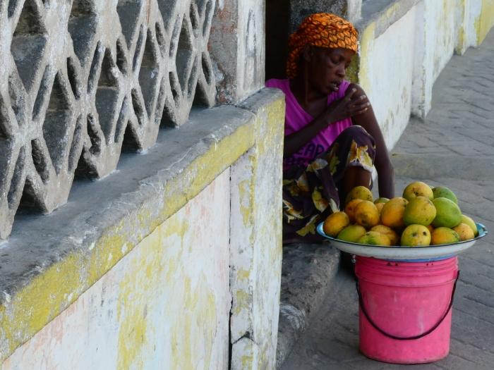 Una escena cualquiera de Isla de Mozambique
