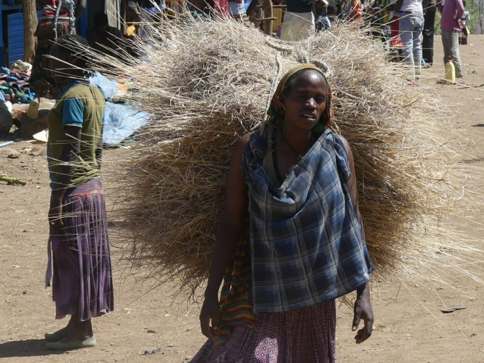Esta cara representa la dureza de la vida de las mujeres en esta zona del mundo, Dimeka