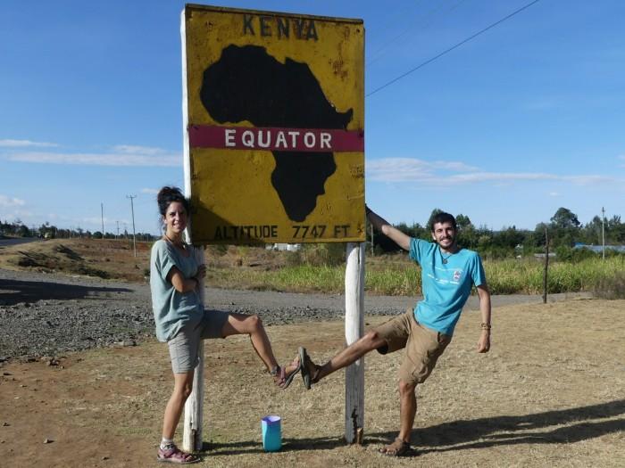 Atravesando el Ecuador en dirección al lago Turkana