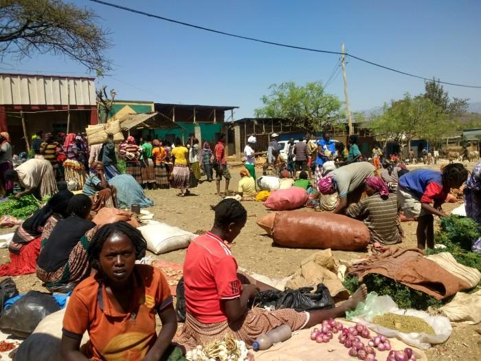 Mercado semanal de Konso