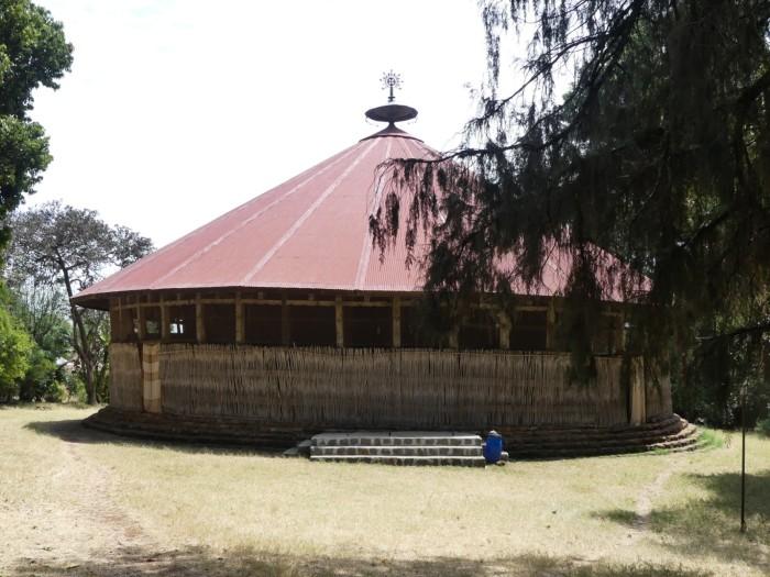 Monasterio de Meret a orillas del lago Tana