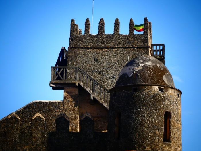 Castillo Fasil en Gondar