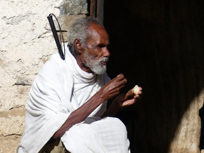 Anciano en Gondar