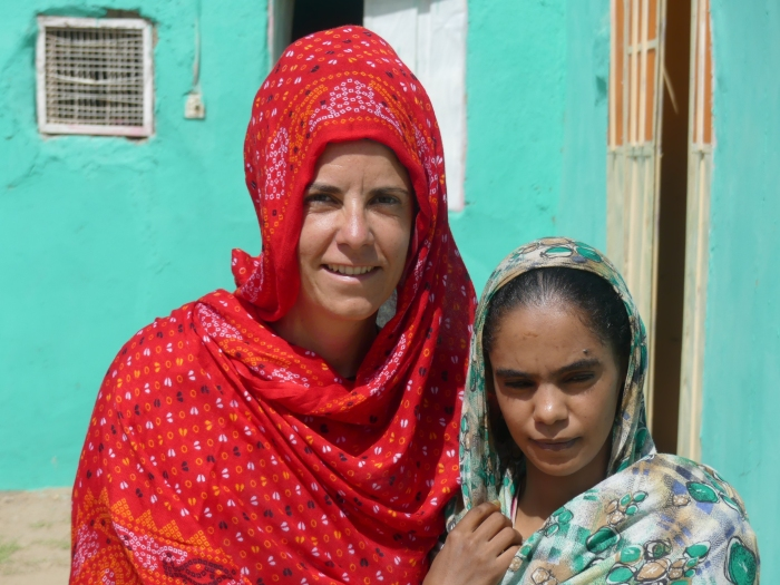 Bea con Namarek en Kerma