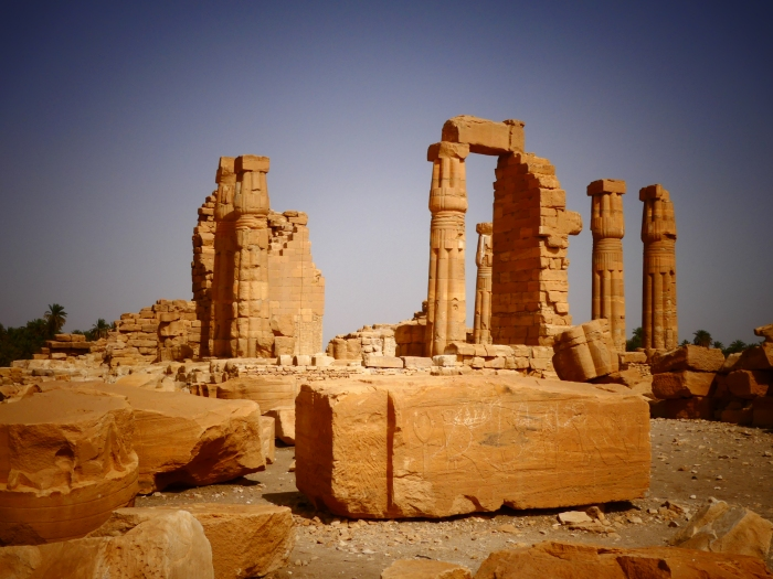 Templo de Soleb, el templo egipcio mejor conservado de Sudán