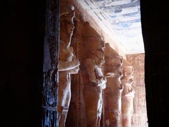 Interior del templo Ramsés II