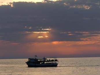 Atardecer en el Mar Negro