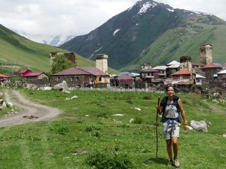 Una de las aldeas de Ushguli