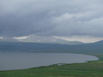 Lago Paravini pre-tormenta