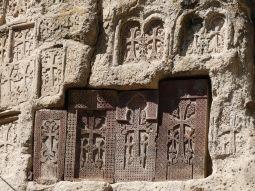 Cruces en Geghard