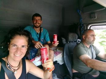 Autostop con sodas