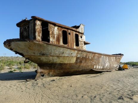 Muynaq, mar de Aral