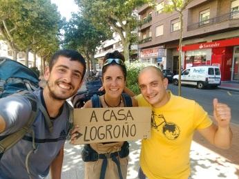 Finalmente en Logroño!